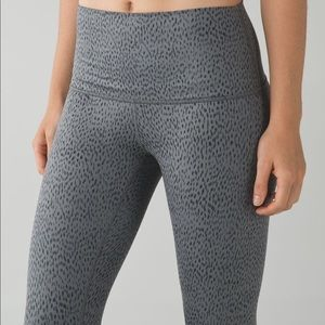 Lululemon Wunder Under high Rise Crop Legging